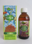 Лляна олія харчова 200 мл