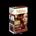 Безаміачна крем-фарба для волосся Nisha Мідно-Червона №5.64 з маслом авокадо