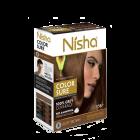 Безаміачна крем-фарба для волосся Nisha Світло-Коричнева №5 з маслом авокадо